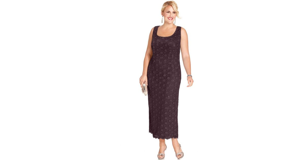 Lyst R M Richards Plus Size Dress And Jacket Sleeveless