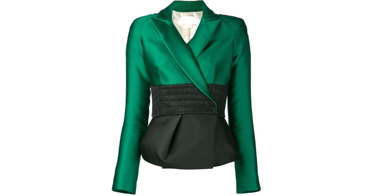 Antonio berardi &39ladies&39 Jacket in Green | Lyst