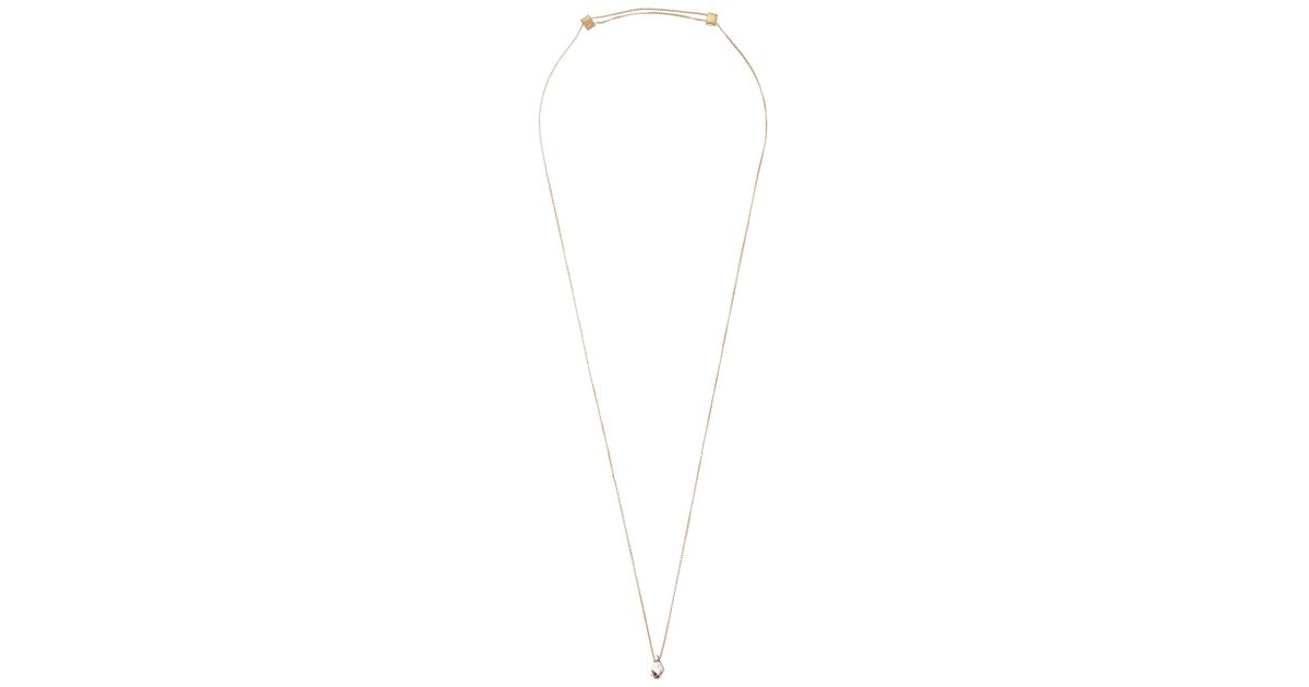 fe2133907 ALEX AND ANI Antique Pink Swarovski Crystal Expandable Necklace in Metallic  - Lyst