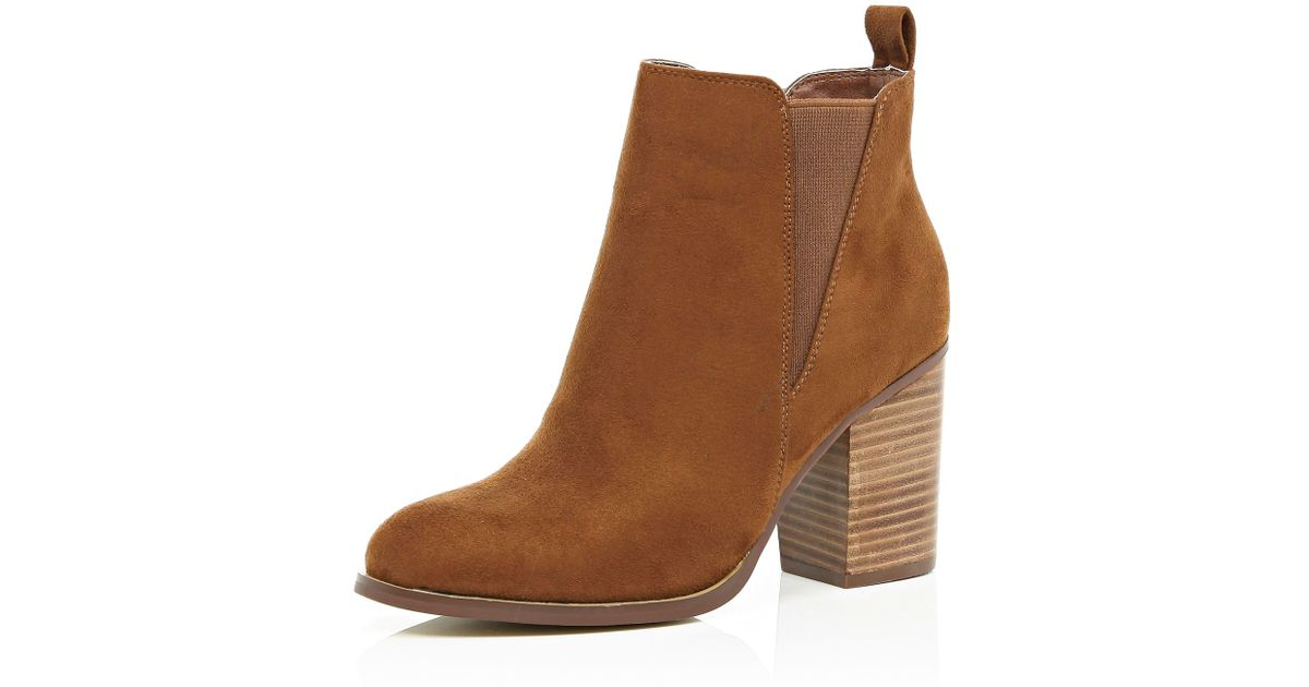 River Island Heeled Chelsea Boots