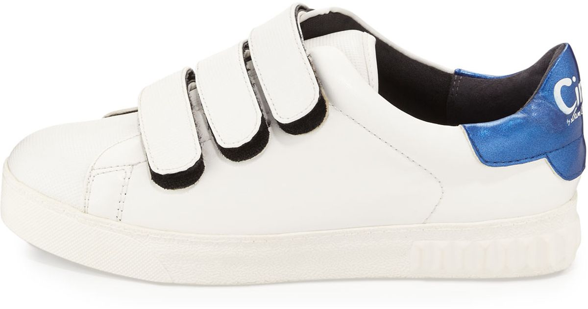 16b4db3b7877 Lyst - Circus By Sam Edelman Chase Grip-strap Sneaker in White
