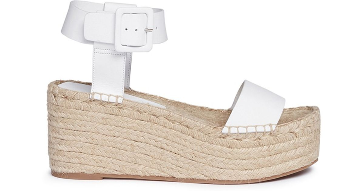 Vince 'abby' Leather Espadrille