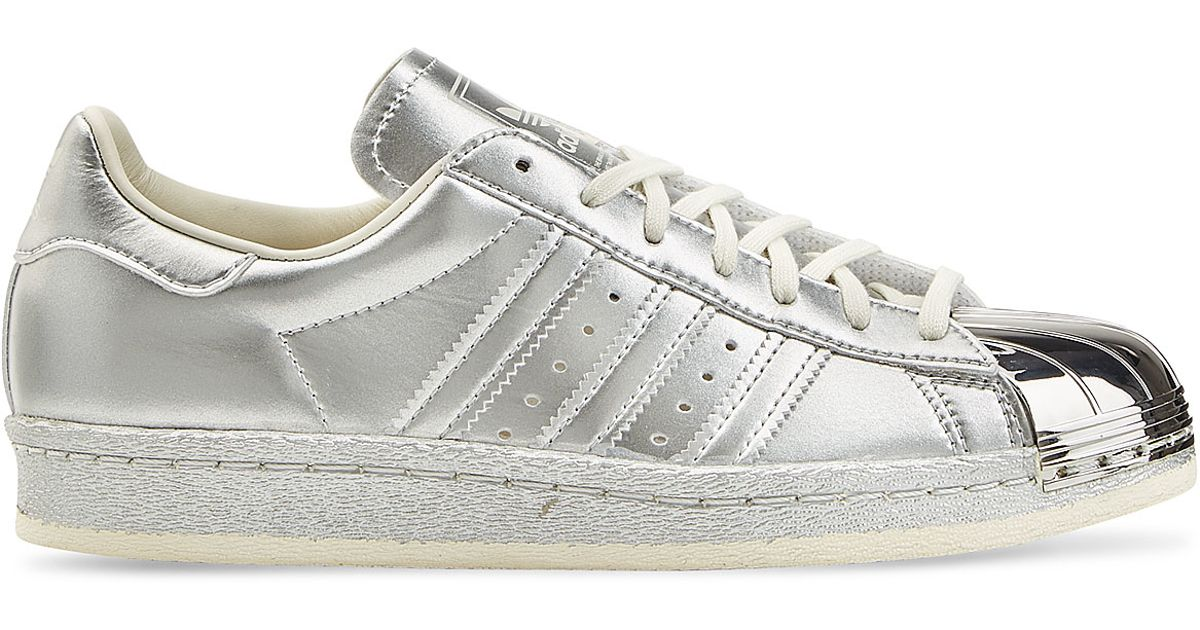 adidas Originals Leather Superstar Sneakers