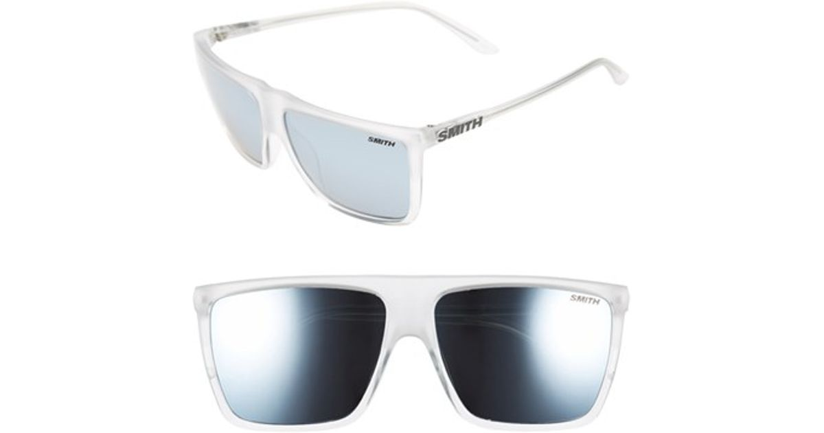 f1f756fcd3155 Lyst - Smith Optics  cornice - Archive Collection  59mm Polarized Sunglasses  - Crystal  Platinum in Metallic for Men