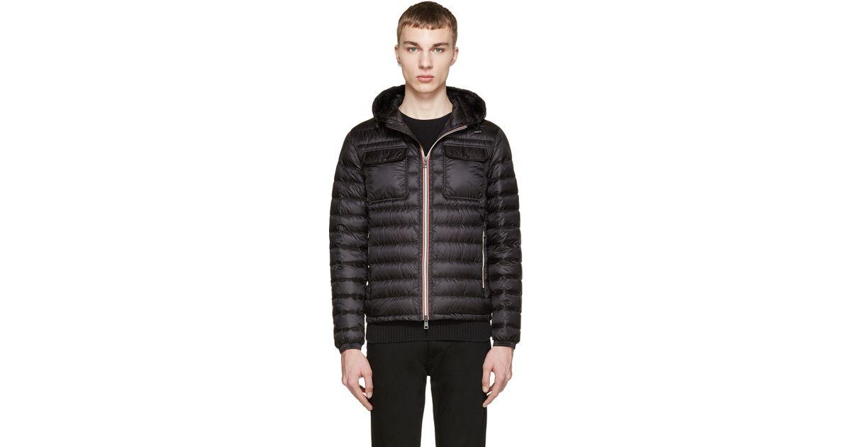 bef6c7b26 Moncler Black Down Douret Jacket for men