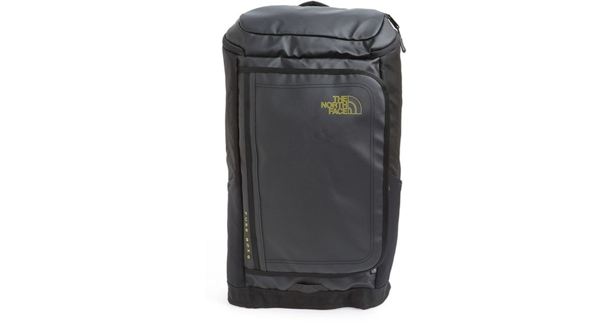 the north face tnf black fuse box charged backpack black product 0 374933705 normal lyst the north face 'fuse box charged' backpack in black for men