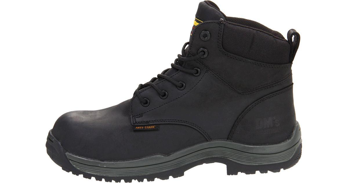Dr Martens Falcon Sd 6 Tie Boot In Black For Men Lyst