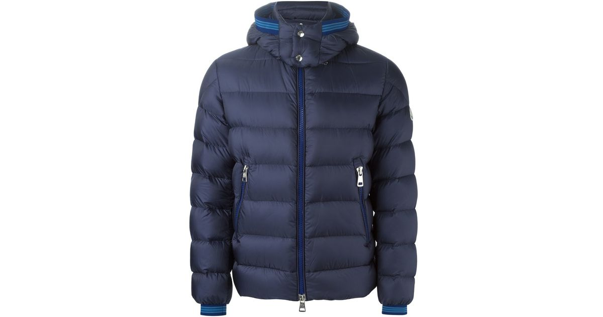f31690bfd Moncler Blue Thoule Quilted Jacket for men