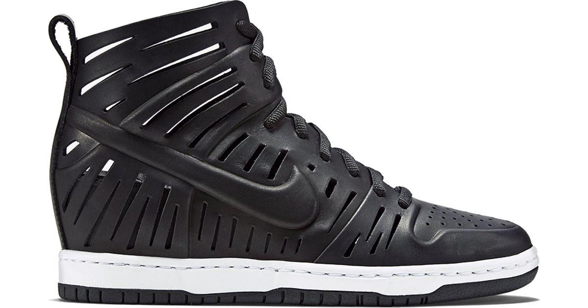 purchase cheap 6c9f8 141c0 Lyst - Nike Wmns Dunk Sky Hi 2.0 Joli in Black
