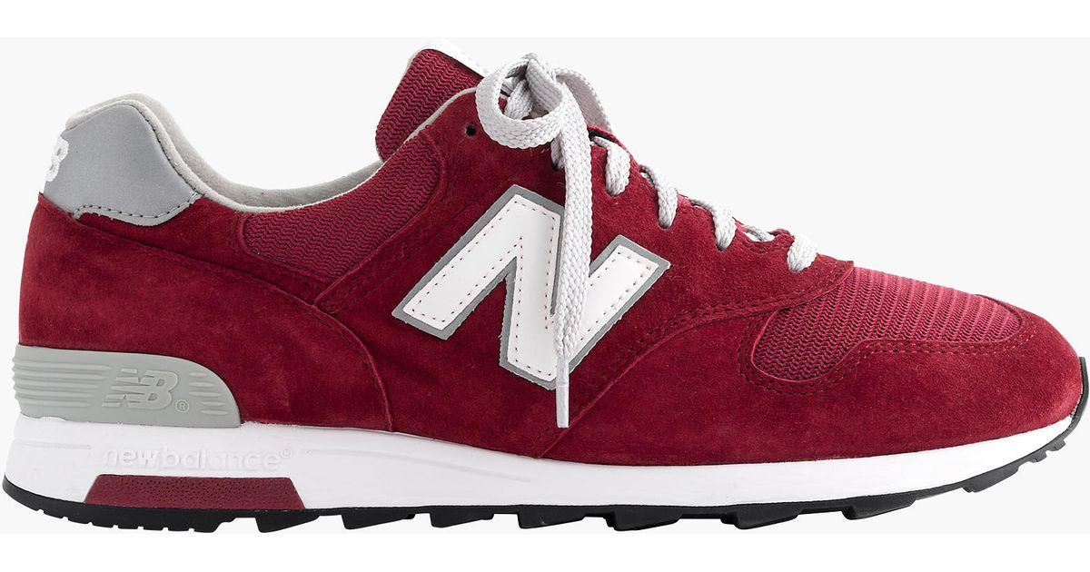 hot sale online 268a5 4434d J.Crew Red New Balance Mesh 1400 Sneakers for men