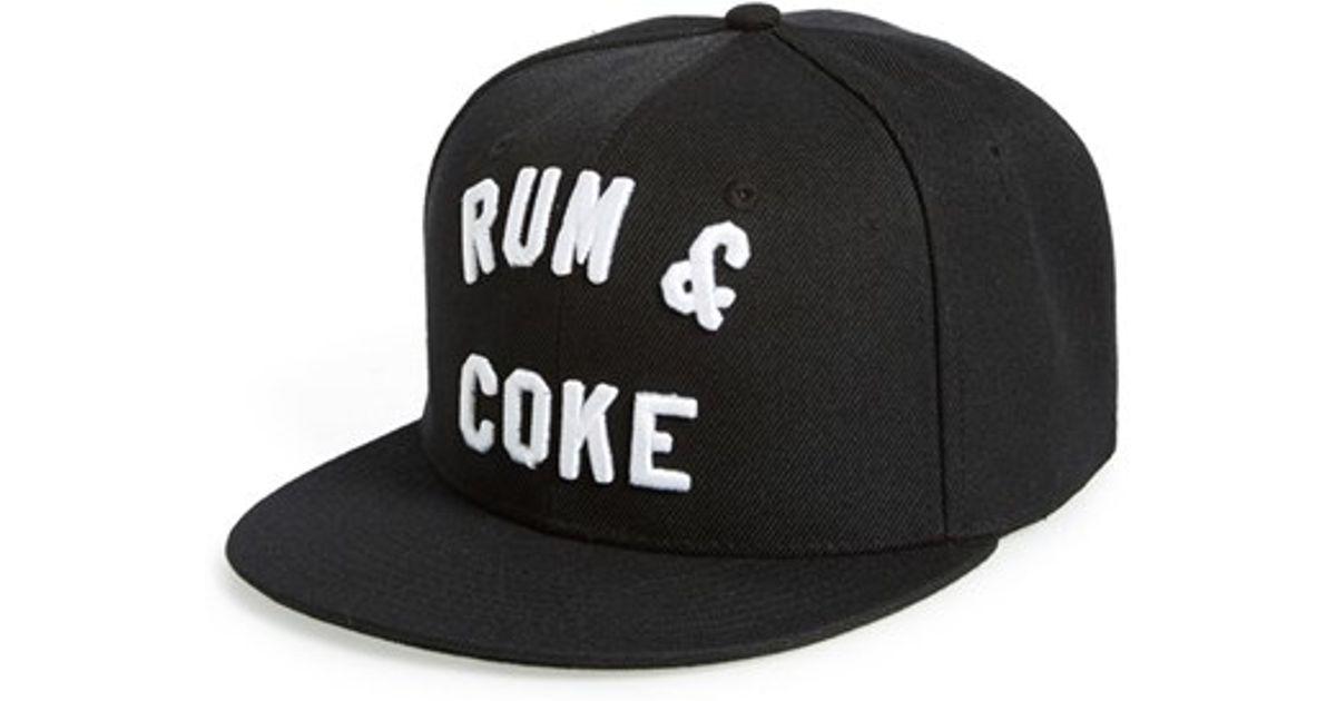 8c7d1d97 Reason 'rum & Coke' Cap in Black for Men - Lyst