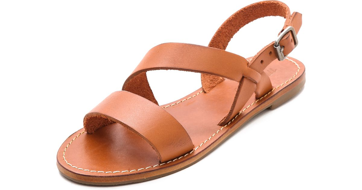 Pecan Slingback Sandals Madewell Orange Sightseer D9IYWE2bHe