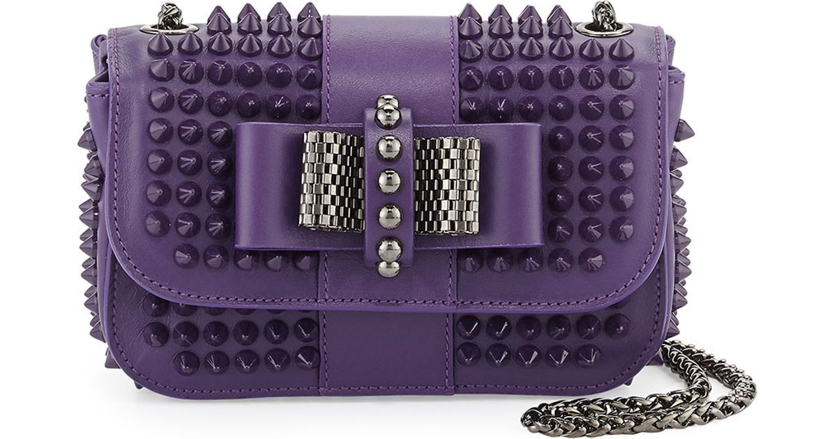 8ed12682092 Christian Louboutin Sweet Charity Small Spiked Crossbody Bag in ...