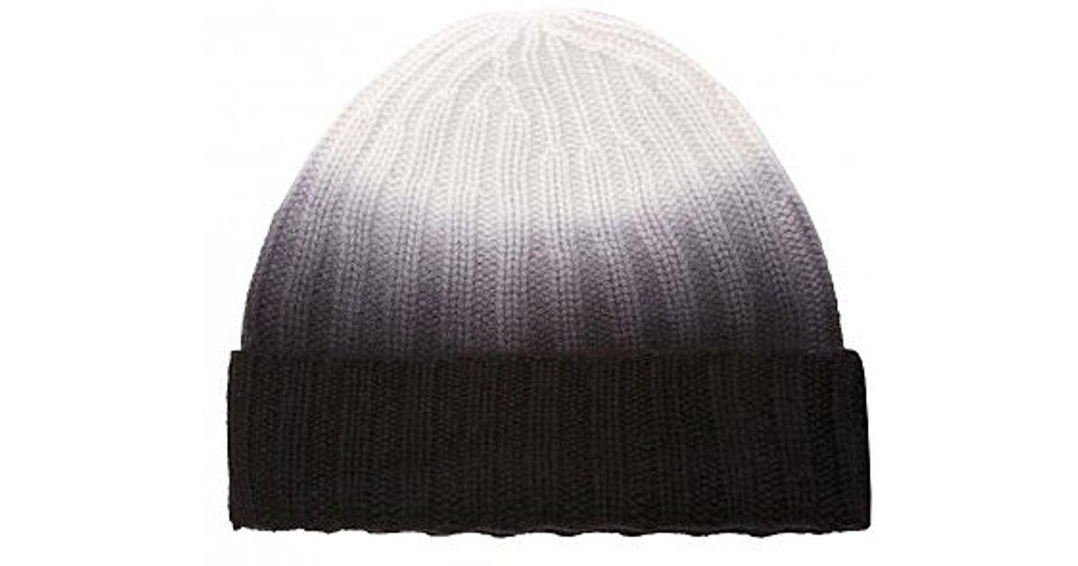 8b242995017 Lyst - Christopher Fischer August Dip Dye Hat in Gray for Men