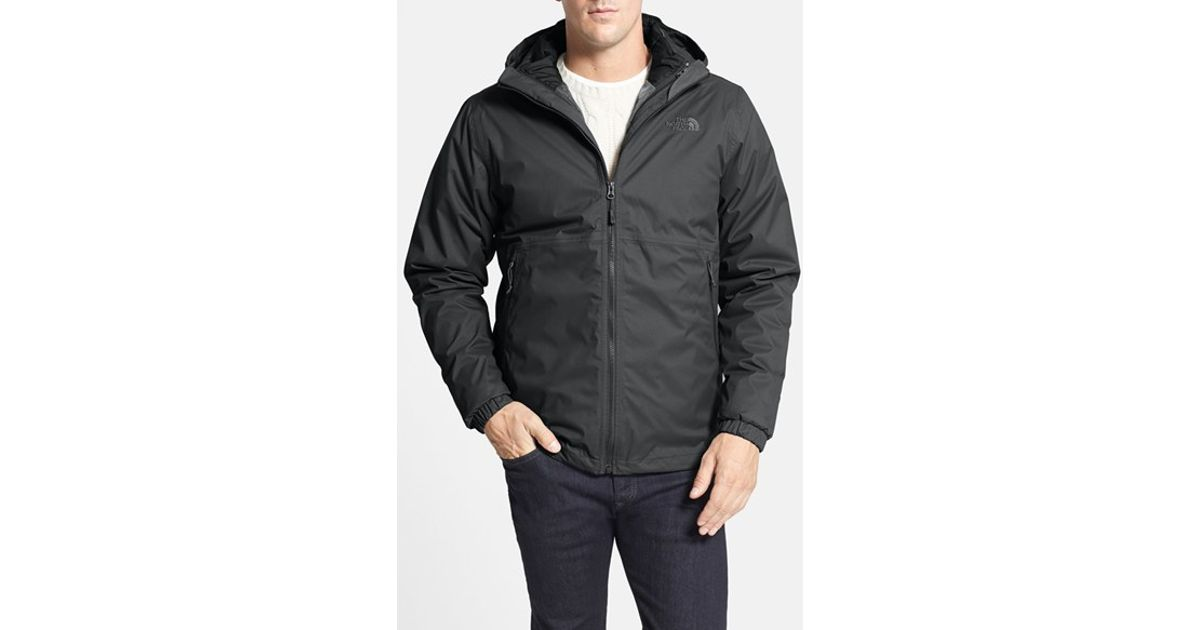 Lyst - The North Face  All About Triclimate  3-In-1 Hyvent Waterproof  Hooded Jacket in Black for Men 66250ef38