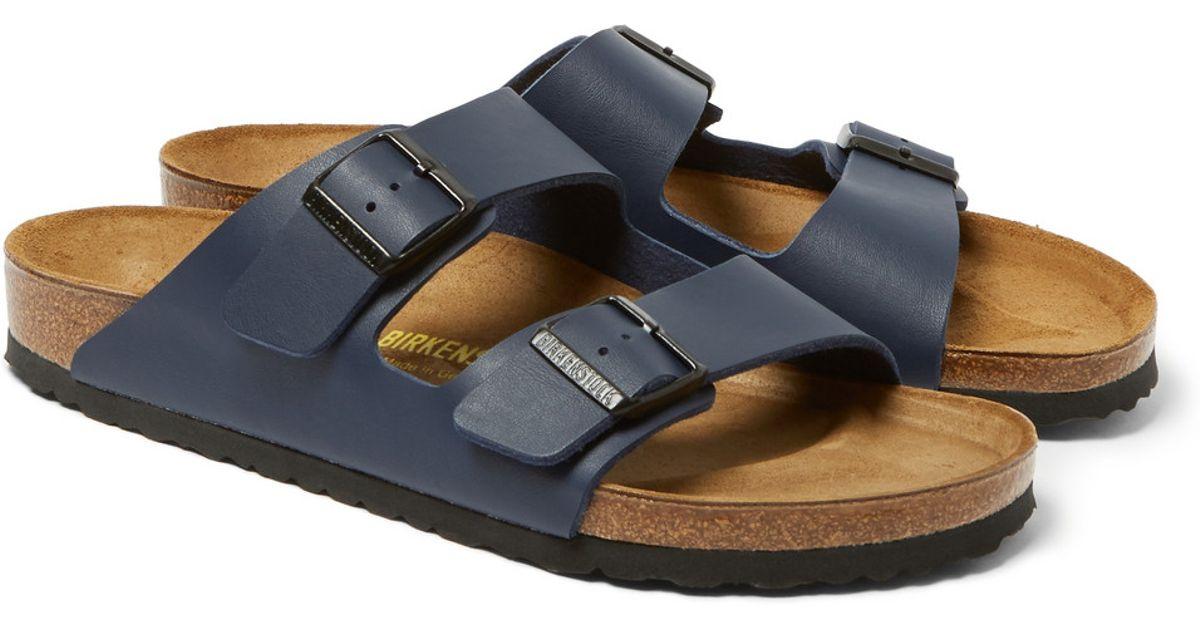 36f7aa1d0da4 Birkenstock Arizona Birko-Flor Sandals in Blue for Men - Lyst
