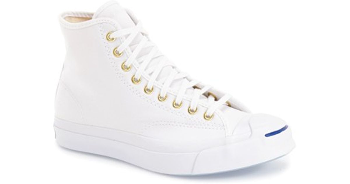 a18dbe72b97c Lyst - Converse  jack Purcell  High Top Sneaker in White for Men
