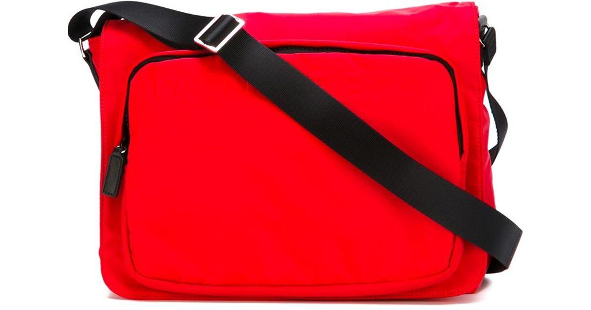 4ac471f07cbf Lyst - DSquared²  postman  Messenger Bag in Red for Men