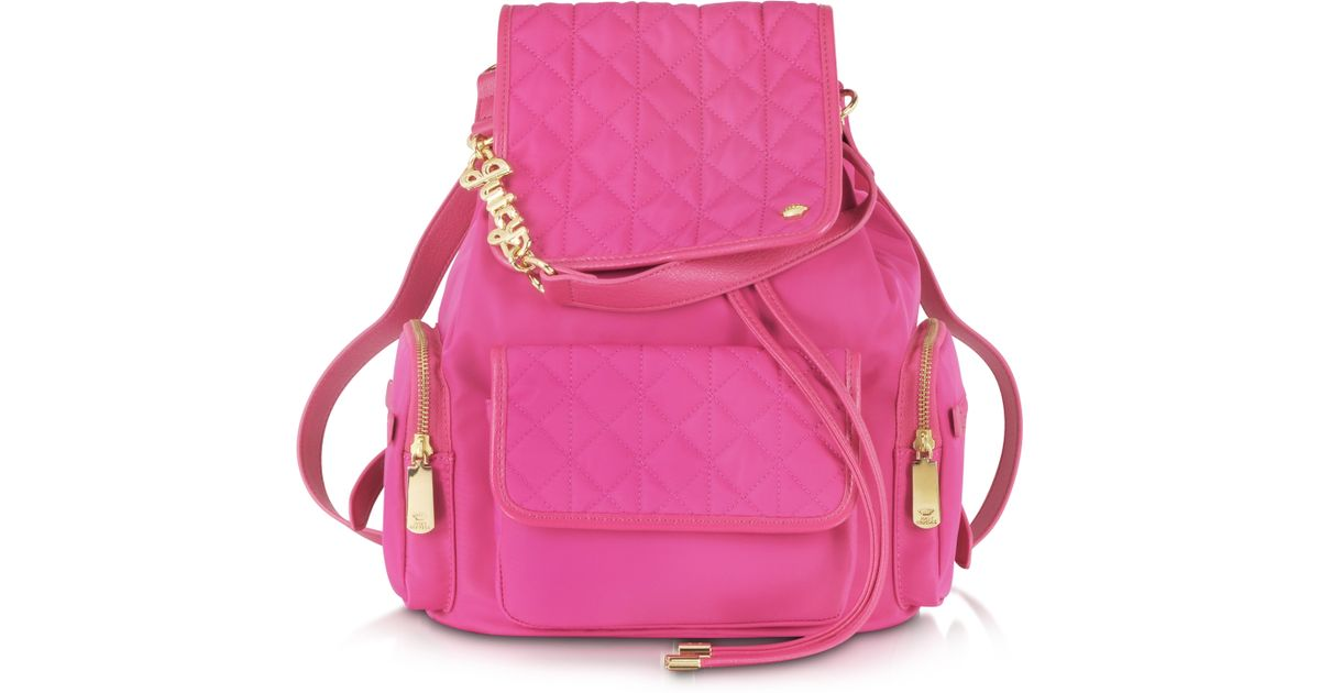 2ef166b1bce6 Lyst - Juicy Couture Larchmont Nylon Mini Backpack in Pink