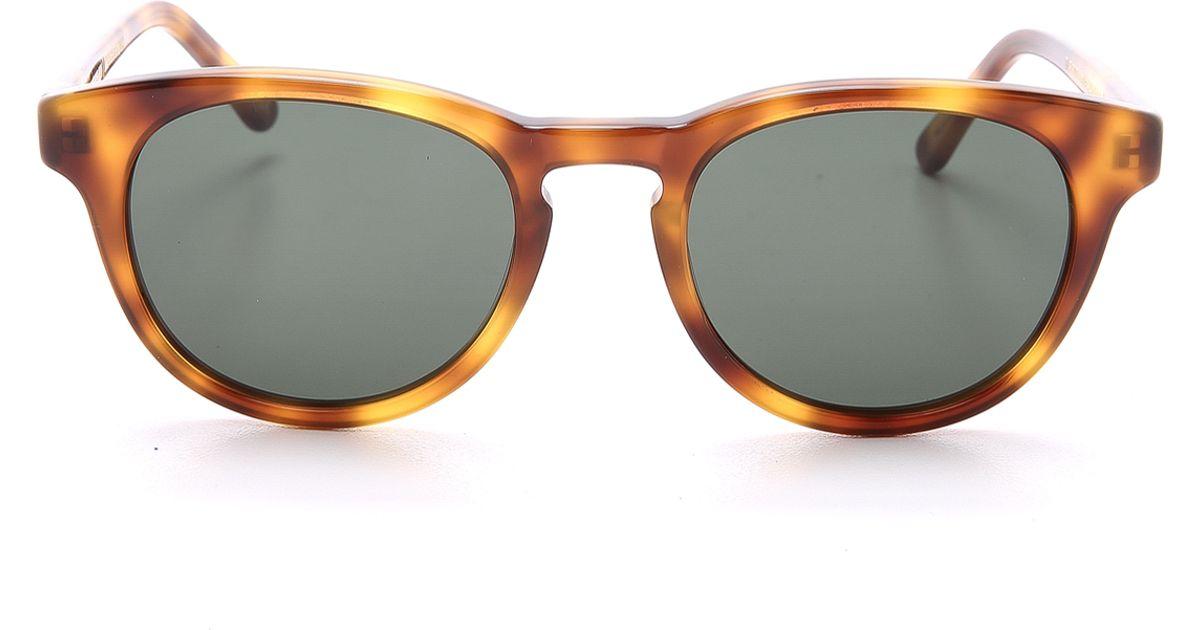 c285a5dccf1e Han Kjobenhavn Timeless Sunglasses in Black for Men - Lyst