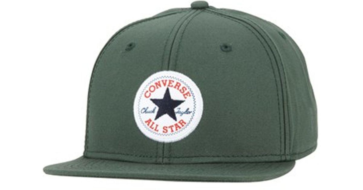 Lyst - Converse  core  Snapback Cap in Green for Men ece8148e0f1
