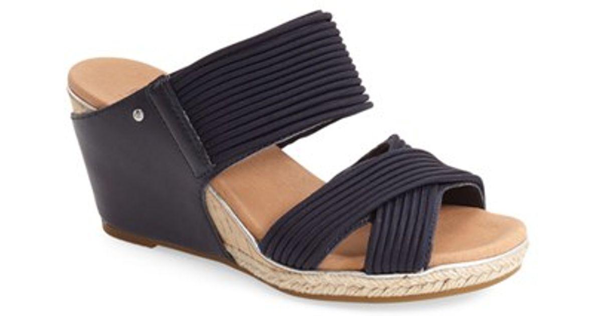 632799b04a8 UGG Natural Ugg 'hilarie' Wedge Sandal