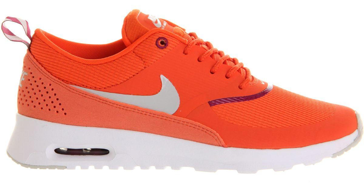 Nike Air Max Thea in Orange - Lyst