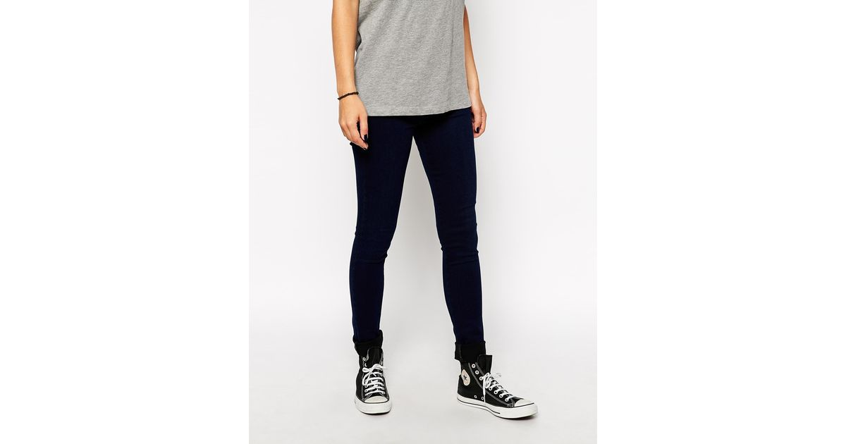 Pocket less jeans
