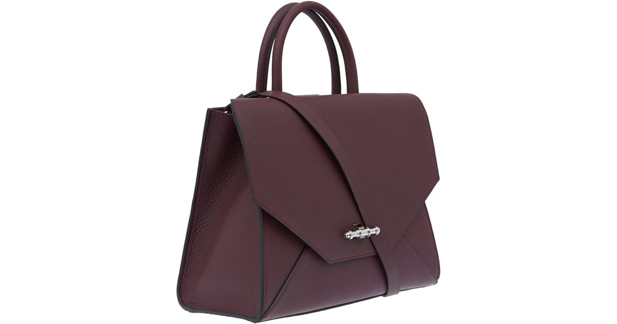8148c1f8c7 Givenchy Medium Burgundy New Obsedia Bag in Purple - Lyst