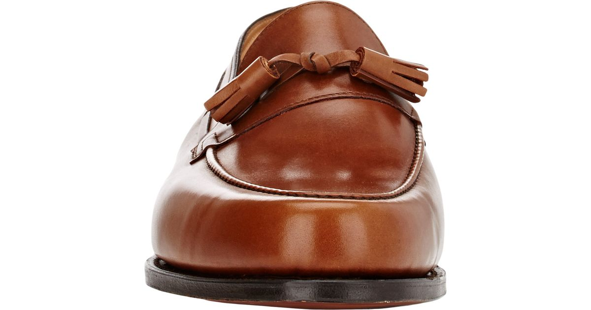 6ba12f6b4ef John Lobb Men s Alton Tassel Loafers in Brown for Men - Lyst