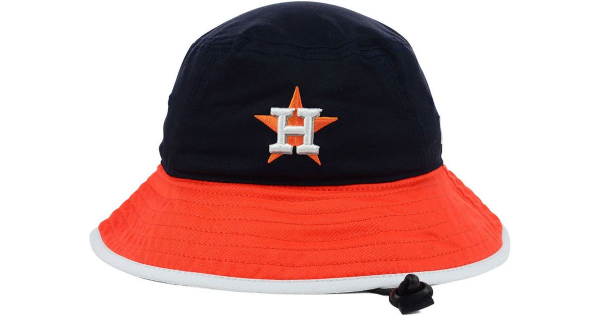 info for cd5c2 a478a ... new zealand lyst ktz houston astros triple color tipped bucket hat in  blue for men e08a1