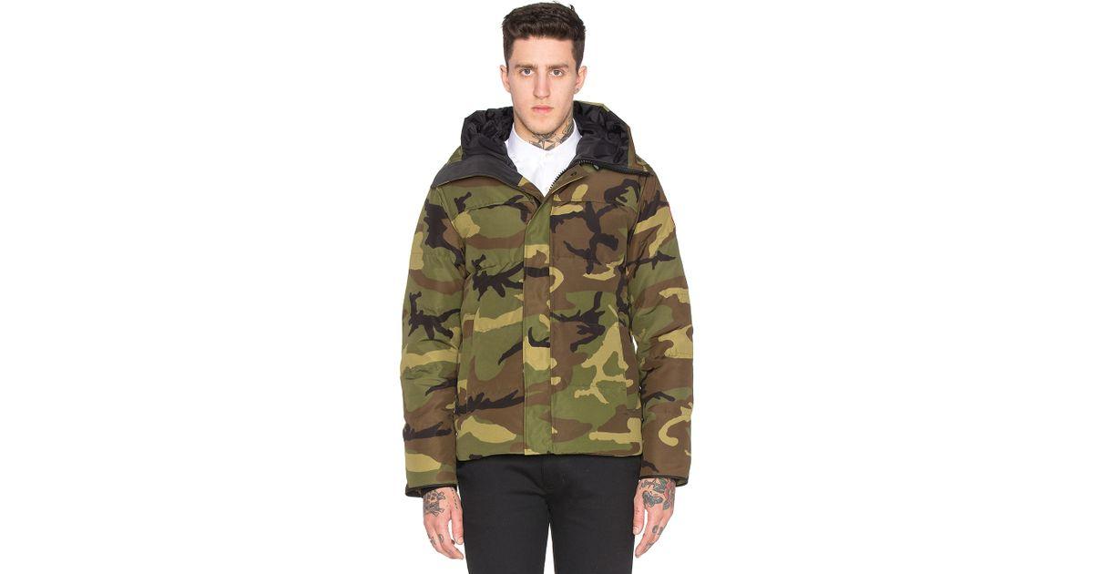canada goose army jacket