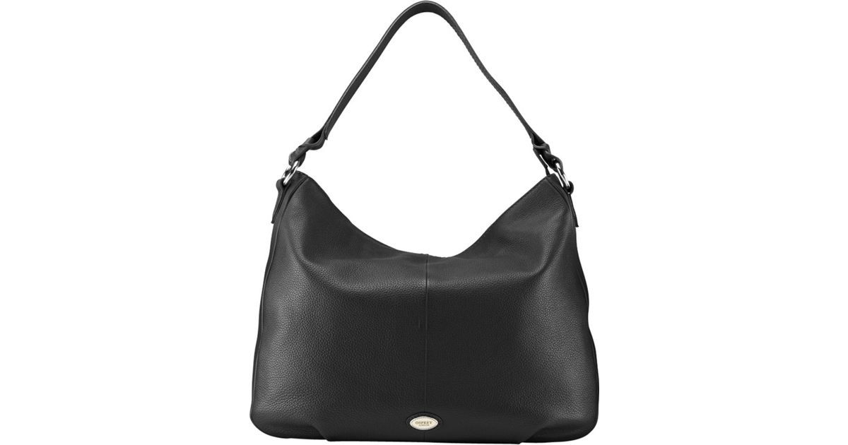 first rate cheapest sale discount coupon Osprey London Black Dalton Leather Hobo Bag