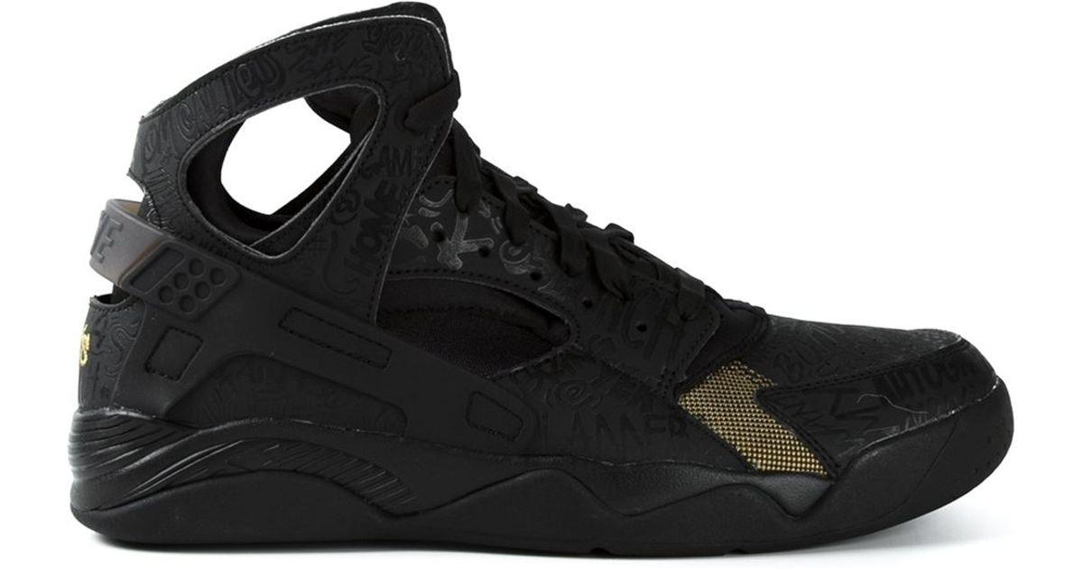27f1d82a2f435 ... High Top  Lyst - Nike Nike Air Flight Huarache Trash Talk in Black for  Men ...