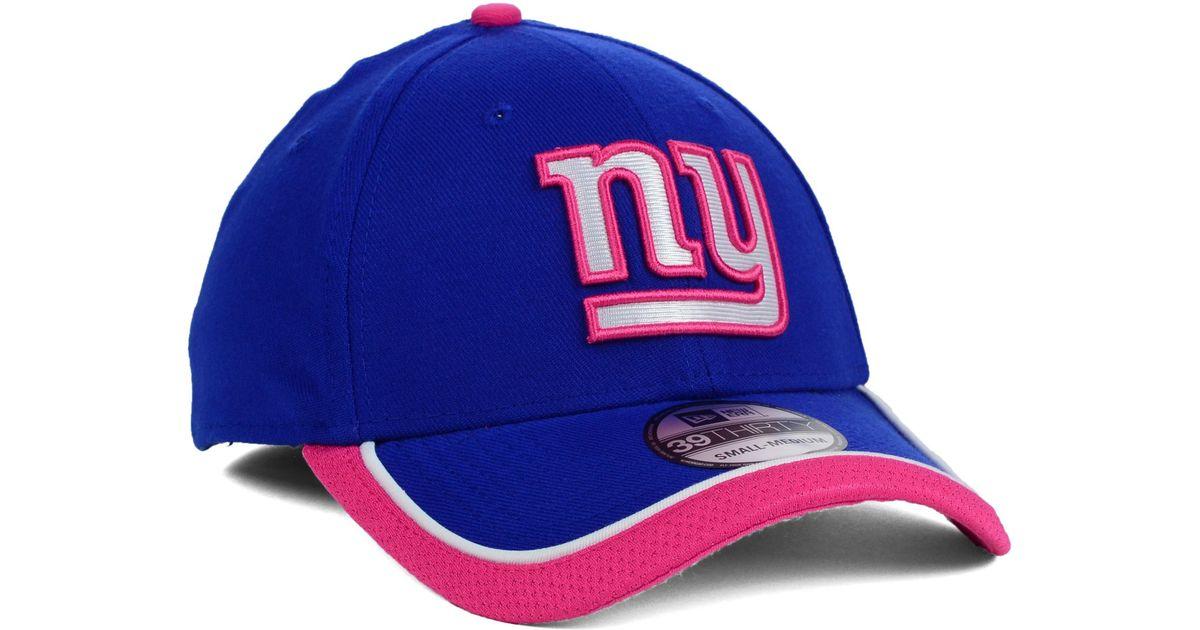 new styles a6d9b 9eb88 KTZ Womens New York Giants Bca 39thirty Cap in Blue - Lyst