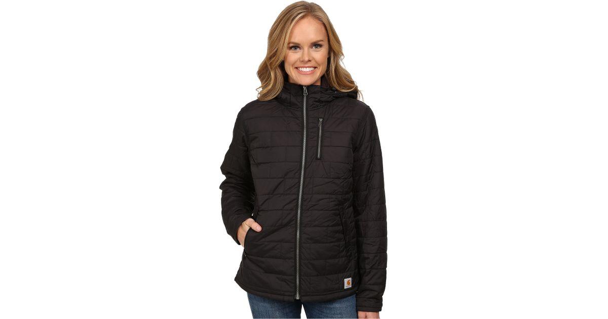 b33a1fa60 Carhartt Amoret Jacket in Black - Lyst
