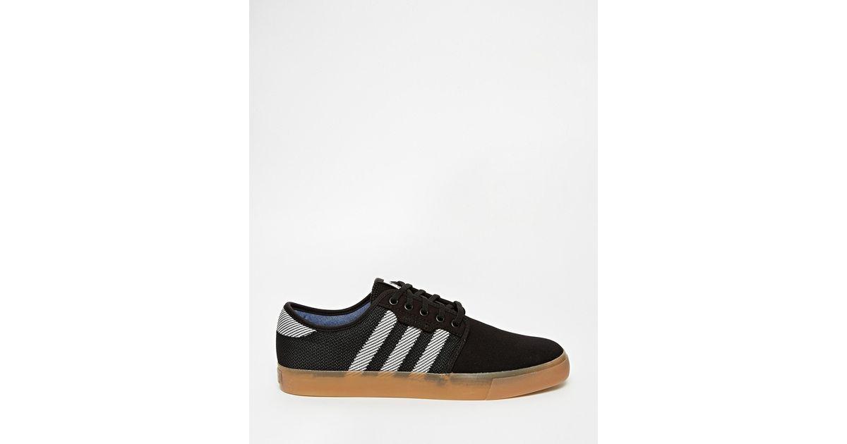 Verkauf ADIDAS SEELEY WOVEN D69227 Herren Schuhe Sneaker