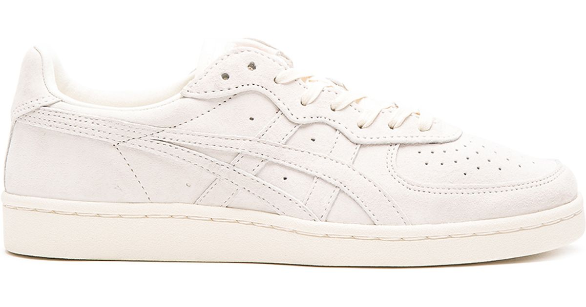 Onitsuka Tiger Suede Gsm in White for