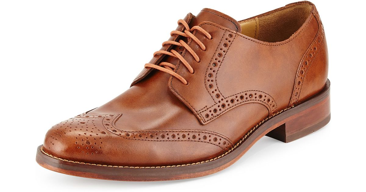 Lyst Cole Haan Madison for Wing Tip Oxford Lace up in marrone for Madison Uomo fd0e0f