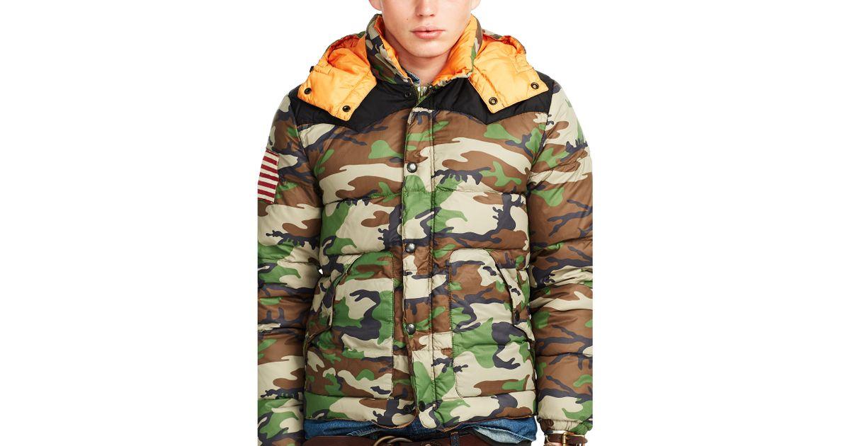 6016c0be7e9d5 Denim & Supply Ralph Lauren Camo Ripstop Down Jacket for Men - Lyst