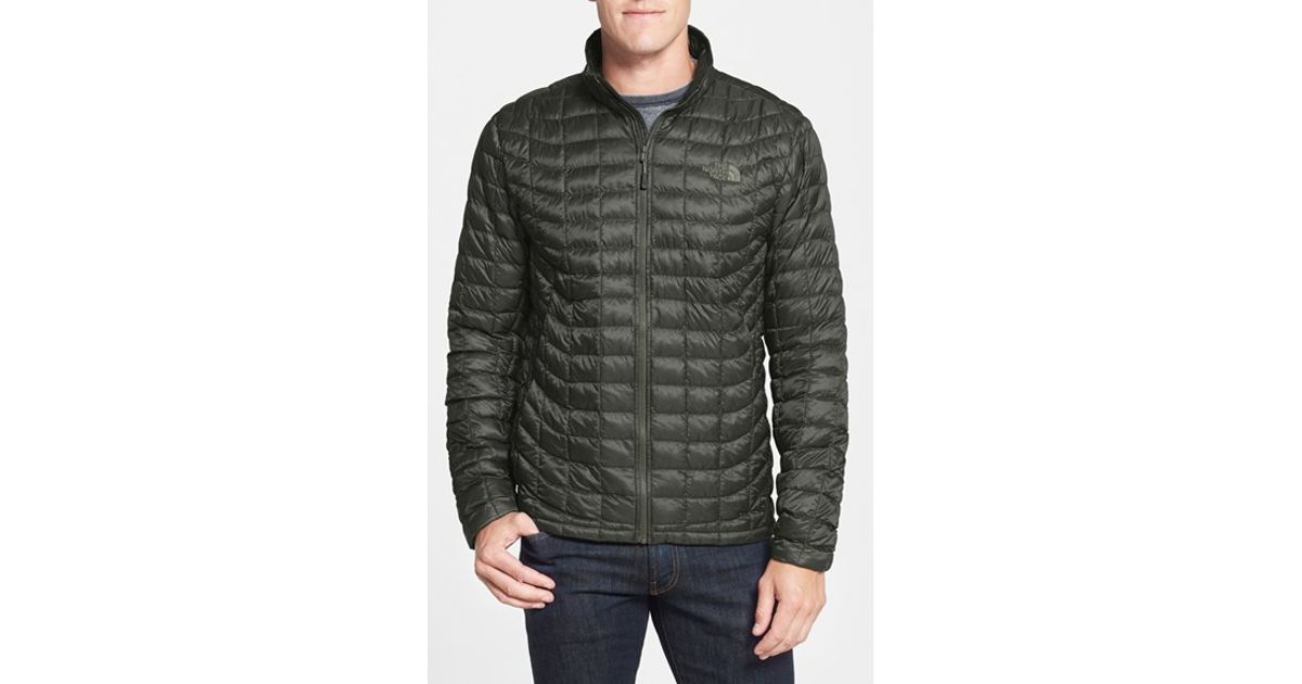 251362703 The North Face Green Primaloft Thermoball Full Zip Jacket for men