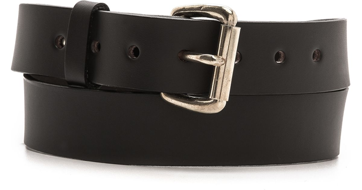 filson bridle leather belt in brown for brown with