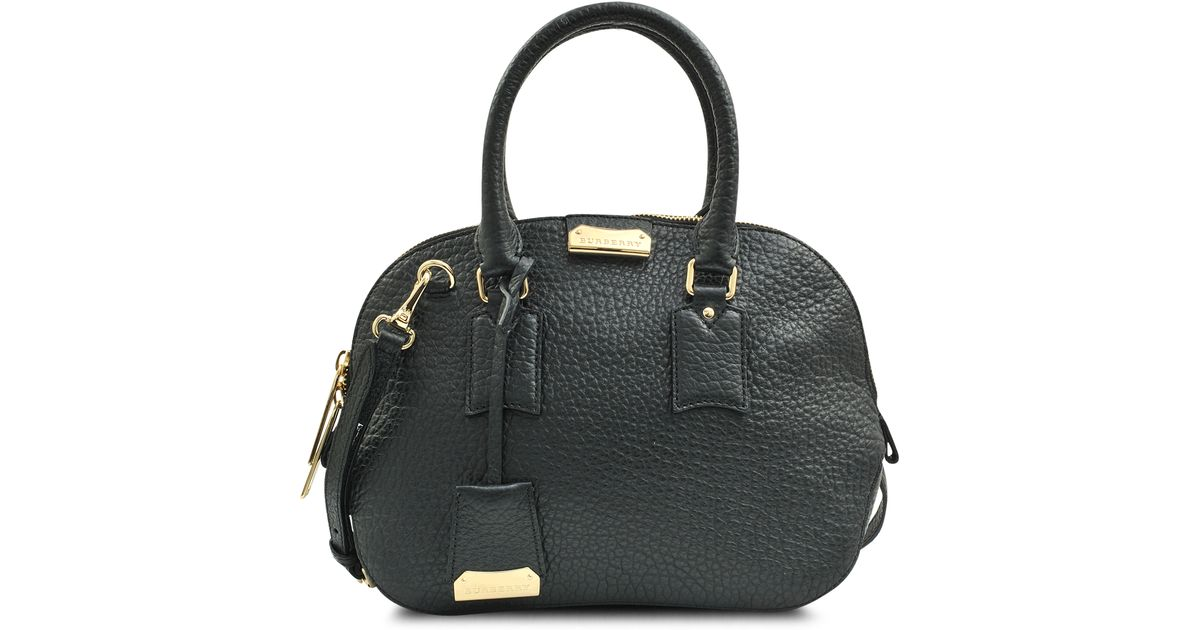 782927b8c4a Burberry Small Orchard Bag in Black - Lyst