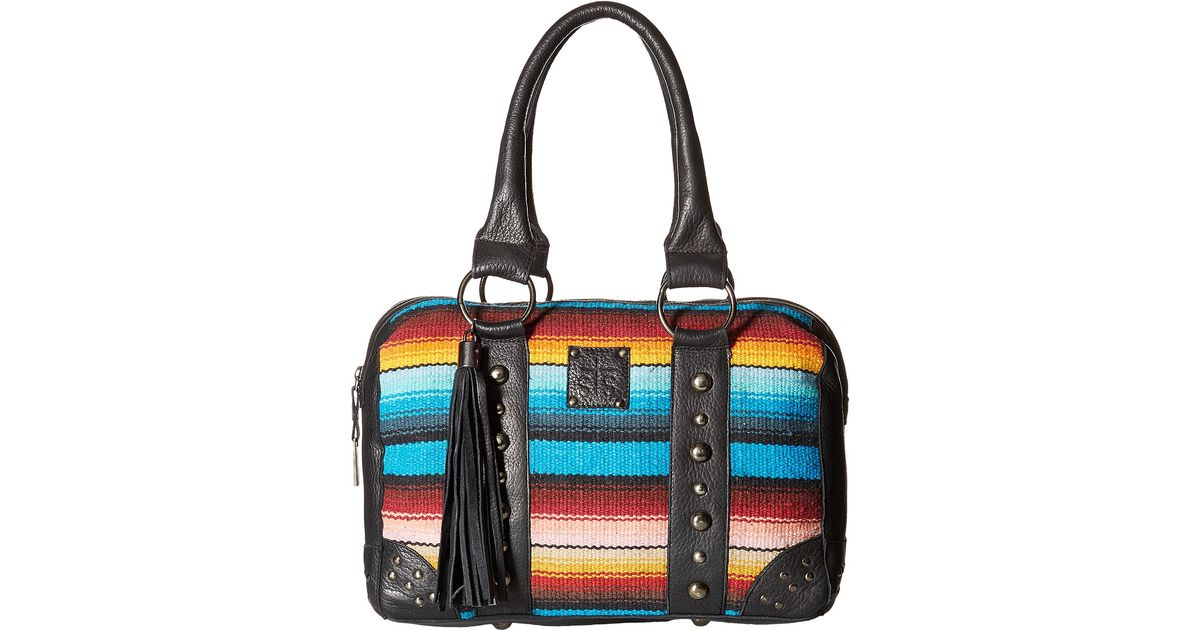 46a8ba8c323 Lyst - STS Ranchwear The Contessa Serape Doctor Bag in Blue