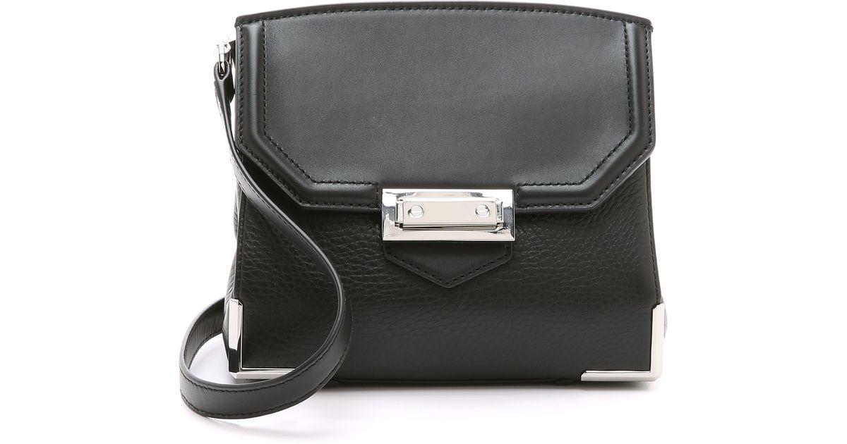 c85e5e3c41c05 Alexander Wang Prisma Marion Sling Cross Body Bag in Black - Lyst