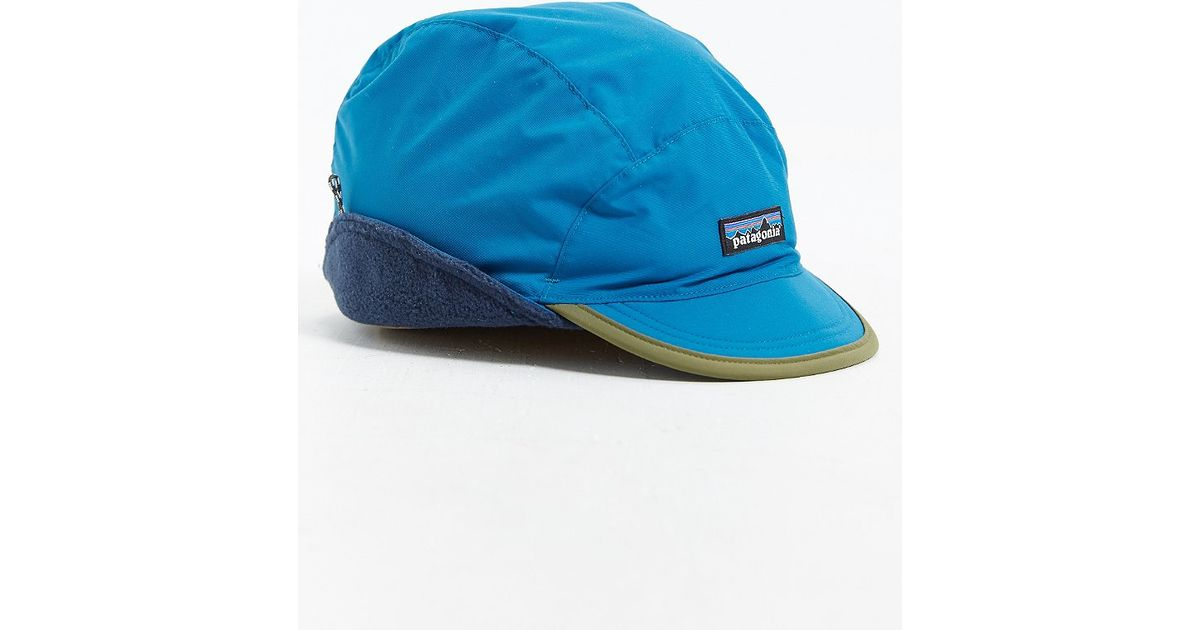 Lyst - Patagonia Shelled Synchilla Duckbill Hat in Blue for Men bca9d3fc82a