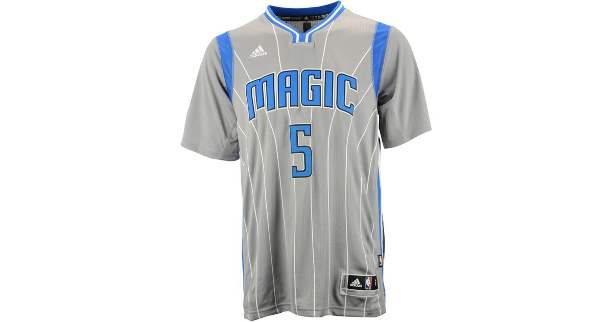 detailing eac45 bc2e7 Adidas Gray Men's Short-sleeve Victor Oladipo Orlando Magic Swingman Jersey  for men