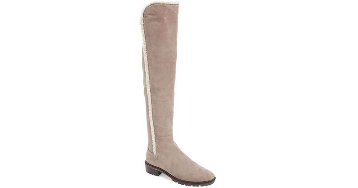 ebay sale online free shipping sale Stuart Weitzman Shearling-Trimmed Ankle Boots outlet pay with paypal clearance best wholesale top quality sale online jCc2AjqY6r