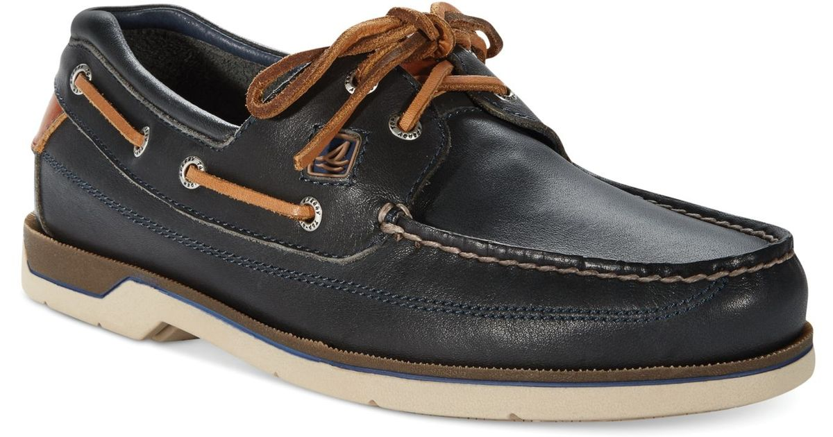 d01ae6a4cdb5 Lyst - Sperry Top-Sider Sperry Men S Swordfish Boat Shoes in Blue for Men