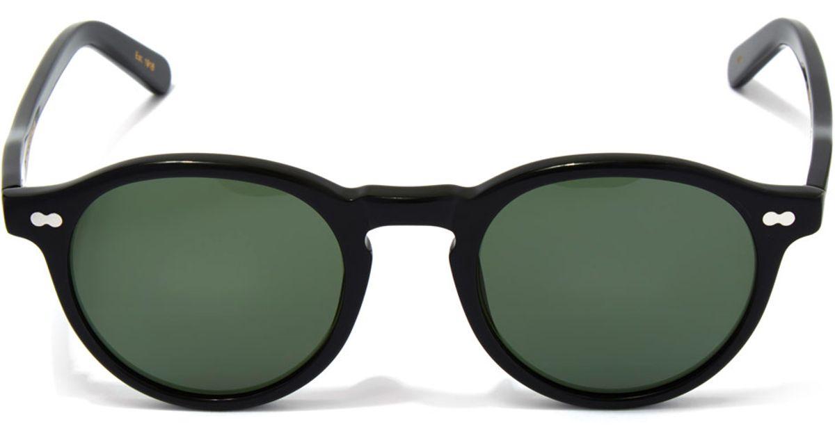 8a23c8d0381 Lyst - Moscot Black Miltzen 49 Sunglasses in Black